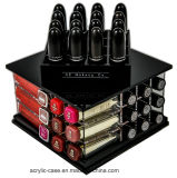 AcrylLipstick Organizer Holder 52 Slot Makeup Tower Storage Box Solution durch N2 Makeup Co (Small Tower, Sapphire Black)