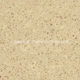 Nouveau Design Polished Quartz Kitchen Countertop dans Cream urbain