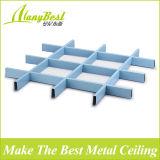 Плитки потолка клетки алюминия 100*100 открытые