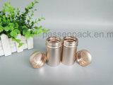 vaso di alluminio 50g nel colore anodizzato dell'oro (PPC-AC-013)