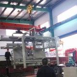 Машина прессформы кирпича цемента конструкции