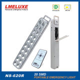 luz Emergency recargable de 20PCS LED con teledirigido