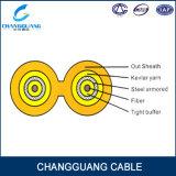 Cable a dos caras de interior de la cuerda de corrección de la fibra de la base de Gjfj8V Zipcord