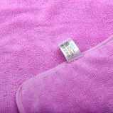 Toalha de banho mágico de microfibra wearable de 3 furos