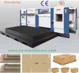800t High Speed ​​Cardboard Automatic Flat Bed Die Cutting Machine Preço