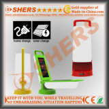 Plegable 12 SMD Solar LED que acampa ligero con USB (SH-2003)