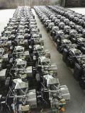 Fusinda 5 kW generador de gasolina eléctrico con la manija y ruedas grandes
