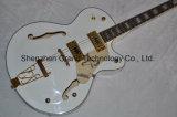 Аппаратура шнура/изготовленный на заказ электрическая гитара с белым соколом (GG-1)