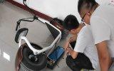 Transporte de la vía guía de Citycoco APP de la rueda grande de la luz eléctrica