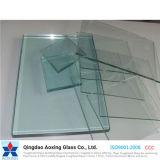 vidrio de flotador plano de 3-19m m para el edificio/casero claros con Ce