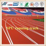 Pista corriente atlética de goma de EPDM/material corriente de la pista que activa