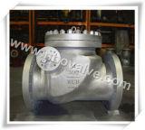 API-Form-Stahl flanschte Schwingen-Rückschlagventil (H44H-2500LB)