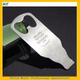 Apri di bottiglia personalizzato figura di marchio del laser della birra