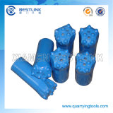 Tungsteno Carbide Taper Button Bit per Oil Well Drill