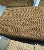 Sistema de ventilação de almofada refrigerar de ar para a casa da exploração agrícola