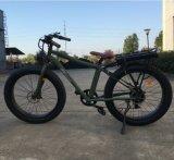 Neues kommendes fetter Stadt-Strand-Kreuzer-elektrisches Fahrrad des Gummireifen-2016 (OKM-705)