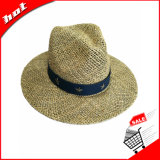 Шлем Fedora Панамы сторновки Seagrass