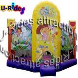 Dora de dibujos animados inflable Kiddy gorila