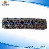 Hino P11c 11101-E0830 S11101-4302를 위한 엔진 실린더 해드