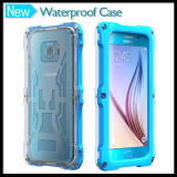 ScrewのSamsung Galaxy S6およびS6 Edgeのための一等級のWaterproof Protective Case Cover