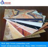 Lamellierter Faux PVC-Marmorvorstand-UVproduktionszweig