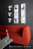 Uispair dekorative Buch-Zahnstangen-Zeitungs-Zeitschriften-Zahnstange