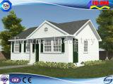 저가 사면 지붕 조립식 가벼운 강철 작은 집 (FLM-H-025)