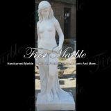손 새겨진 조각품 대리석 돌 화강암 백색 Carrara 동상 Ms 1001
