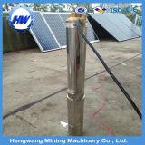 Solarwasser, das Heißwasser-Pumpe verteilt