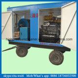 Arenador diesel de alta presión del jet de agua de limpieza del tubo de dren de la arandela de la alcantarilla