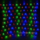 Indicatore luminoso della rete della stringa del LED per la decorazione di cerimonia nuziale della festa di Natale dell'albero