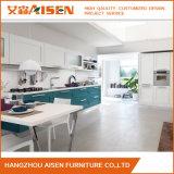 Cabina de cocina moderna de madera sólida de los muebles del hogar del diseño simple