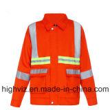 クリーニングの労働者(C2401)のための高い可視性の安全ユニフォーム