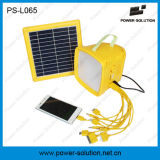 Linterna solar con la radio y la carga del MP3 y del teléfono móvil