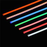 Música de néon flexível do RGB da tira do diodo emissor de luz que muda DC12V IP65 impermeável ao ar livre