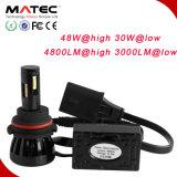 Nueva linterna H1 H3 9004 del diseño 9-36V 9004 de Matec 9005 H4 H7