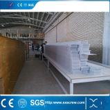 Máquina plástica cambiada color del estirador del perfil del PVC para modificado para requisitos particulares