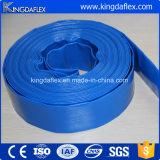 Mangueira agricultural do PVC Layflat do plástico