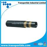 1 oder 2 Flechten hochfester hydraulischer Gummischlauch R17 des Stahl-Draht-SAE 100
