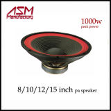 """Haut-parleur Woofer de haute puissance de 1600 Watts RMS 15 """"/ 18"""""""