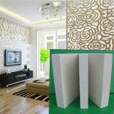 La feuille de PVC décorent pour la cloison de séparation et les vitrines