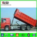 HOWO 25m3 덤프 트럭 371HP 디젤 엔진 무거운 쓰레기꾼 팁 주는 사람 트럭