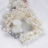 Braccialetto della perla naturale dell'argento sterlina 925 da vendere