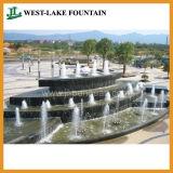 Ландшафтный Водяной Фонтан на ЖД Станции