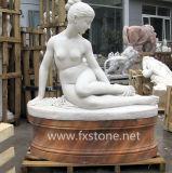 Steinstatue-Antike-Marmorstatue (FX02)