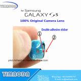 Obiettivo di vetro della macchina fotografica posteriore della parte posteriore per il coperchio di obiettivo della galassia S5 I9600 G900A G900f di Samsung Circle+Adhesive