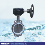 Stainless Steel (CF8、CF8M)のステンレス製のSteel Butterfly Valve
