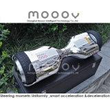 Scooter de équilibrage de dérive intelligent d'individu électrique de deux roues de couleur argentée de chrome