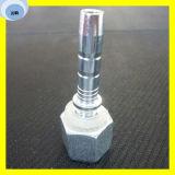 Femmina metrica un cono da 60 gradi che misura l'accoppiamento di tubo flessibile idraulico del montaggio di tubo flessibile