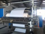 Máquina de capa de la etiqueta adhesiva de la botella de la película